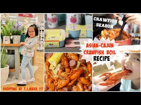 Cuối Tuần Nấu CRAWFISH ♥ Shopping Ở TJ MAXX Mua Đồ Bếp Cực Rẻ ♥ Làm Sữa Đậu Nành Yến Mạch Bổ Dưỡng - Thời lượng: 28 phút.