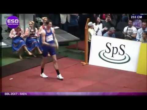 Прыжок Олимпийского Чемпиона на высоте 2.33м.