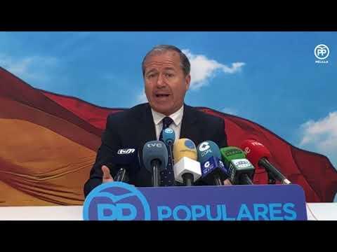 """Marín: """"Lo lógico es que Vox no se presente en Melilla, porque dividir el voto beneficia a Aberchán"""""""
