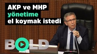 Mansur Yavaş'a Belediye Meclisi'nde büyük şok! | AKP ve MHP yönetime el koymak istedi |
