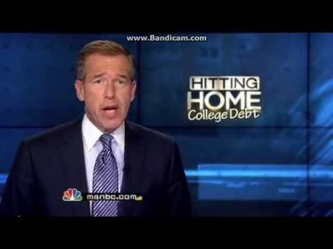 NBC News   Brian Williams and Student Loan Forgiveness