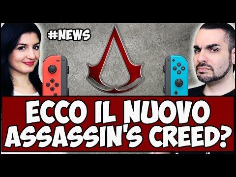 PROSSIMO ASSASSIN'S CREED! + BRUTTE NOTIZIE PER SWITCH! #NEWS