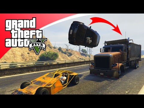 GTA V Freeroam - RAMP BUGGY SPEL! (GTA 5 Online)
