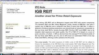 Video How to value REIT stocks ❓❗️  (if u did not get a REIT IPO, should you invest at higher price?) MP3, 3GP, MP4, WEBM, AVI, FLV Maret 2019