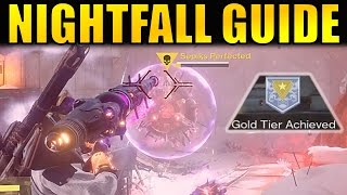 """The complete guide and walk through for the current Nightfall (March 14th - 21st), before Age of Triumph hits Destiny (Sepiks Perfected)! This guide will showcase how to beat the Nightfall, and also how to achieve the Gold Tier score to get the """"Gold Contender"""" Medal to complete the """"Sunrise"""" Bounty from Zavala (completing this bounty is how you get the Icebreaker Exotic Sniper Rifle!)The Strike specific loot for this strike is the Devil's Dawn Sniper RIfle.--- Official Merch: https://shop.bbtv.com/collections/kackishd--- My Twitter: https://twitter.com/RickKackis--- My Twitch Channel: http://www.twitch.tv/kackishd/profile"""