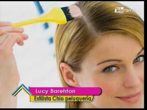 Cómo pintarse el cabello en casa