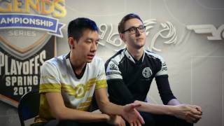 Welcome to S7 NA LCS Spring 2017 Semi Finals - TSM vs FlyQuest...