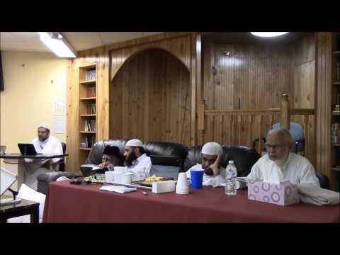 قراءة مسلم على ش.ظهير الدين وعبدالرحمن المباركفوريين من قوله
