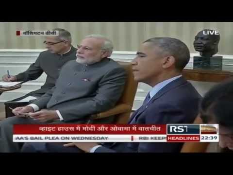 Conference - Prime Minister Narendra Modi and US President Barack Obama address a Joint Press Conference after the India-US Summit discussion at White House, Washington D.C. Date: September 30, 2014 ...