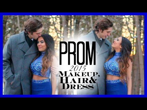 PROM 2015: Makeup, Hair & Dress ♡