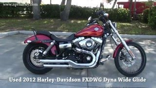 2. 2012 Harley Davidson Dyna Wide Glide for sale in Tampa Bay Area