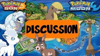 Pokemon Sun and Moon! New Pokemon & Mechanics Discussion w/ PokeaimMD, Akamaru, Blunder & Gator by PokeaimMD
