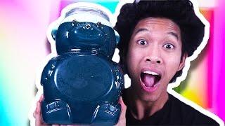 DIY GIANT JELLO GUMMY BEAR!!! full download video download mp3 download music download
