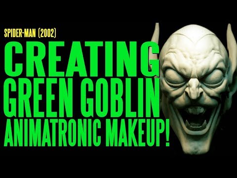 Animatronic - This video shows ADI's talented crew creating the test makeup of Green Goblin for Sam Raimi's SPIDER-MAN. This hybrid animatronic/makeup made use of a silico...