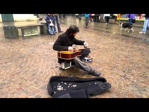 Jack Broadbent: Amazing busker should be WORLD famous!