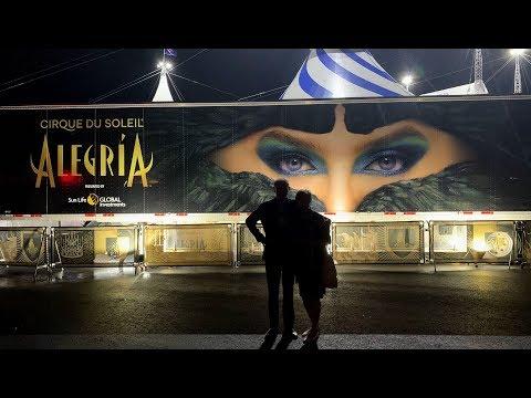 ЗА КУЛИСАМИ! Цирк ДЮ СОЛЕЙ. ALEGRIA. Тренер цирка - Дмитрий Калинин. Cirque DU SOLEIL