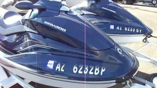 1. 2009 Sea Doo GTI 155 & 130 SE Walk Around Boulder Boats