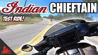 8. 2019 Indian Chieftain Test Ride!