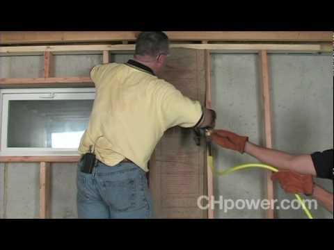 Frame - Wish you could transform your basement into more useful living space? This Campbell Hausfeld project video will show you how to start a basement remodel by f...