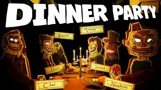 You look nervous... why don't to take a seat and enjoy the dinner?Subscribe Today! ► http://bit.ly/MarkiplierHave a Dinner Party ► https://tomhughes.itch.io/dinner-partyAwesome Games Playlist ► https://www.youtube.com/playlist?list=PL3tRBEVW0hiDAf0LeFLFH8S83JWBjvtqEScary Games Playlist ► https://www.youtube.com/playlist?list=PL3tRBEVW0hiBSFOFhTC5wt75P2BES0rAoFollow my Instagram ► http://instagram.com/markipliergramFollow me on Twitter ► https://twitter.com/markiplierLike me on Facebook ► https://www.facebook.com/markiplierJoin us on Reddit! ► https://www.reddit.com/r/Markiplier/Horror Outro ► https://soundcloud.com/shurkofficial/hauntedHappy Outro ► https://soundcloud.com/hielia/minimusicman-crazy-la-paint