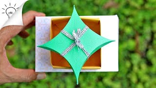 How To Make a Paper Box | DIY Gift Box | Origami