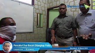 Pencabul Dua Bocah di Aceh Barat Ditangkap Polisi