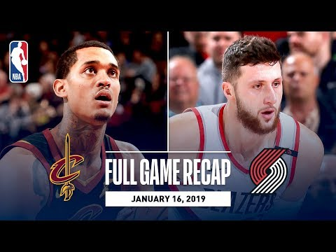 Video: Full Game Recap: Cavaliers vs Trail Blazers | Jusuf Nurkic Records His First Career Triple-Double