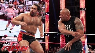 Nonton The Rock Confronts Rusev  Raw  Oct  6  2014 Film Subtitle Indonesia Streaming Movie Download