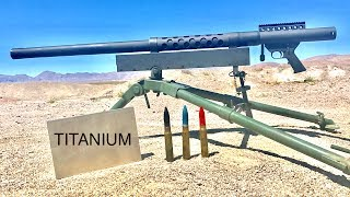 20MM VS TITANIUM - WILL TITANIUM STOP A CANNON?
