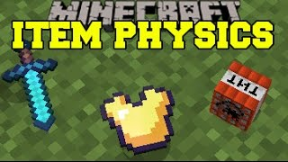Video Minecraft: ITEM PHYSICS (EPIC DROP ANIMATIONS, FLOATING BLOCKS, & MORE!) Mod Showcase MP3, 3GP, MP4, WEBM, AVI, FLV September 2018