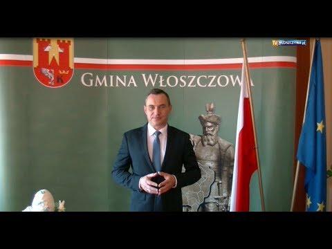Życzenia Burmistrza Gminy Włoszczowa Grzegorza Dziubka dla Mieszkańców Gminy i Powiatu Włoszczowskiego
