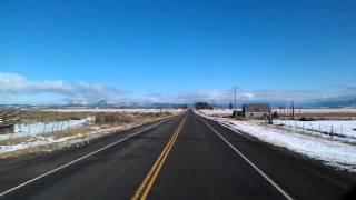 Panguitch (UT) United States  City new picture : Leaving the truckstop in Panguitch, Utah on US Highway 89 North on Feb 17, 2012