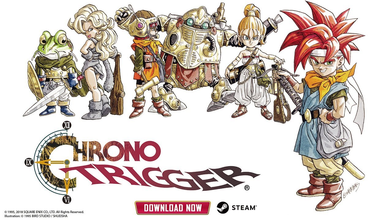 Chrono Trigger Updated With Cloud Saves Controller Support And - Create invoice app square enix online store