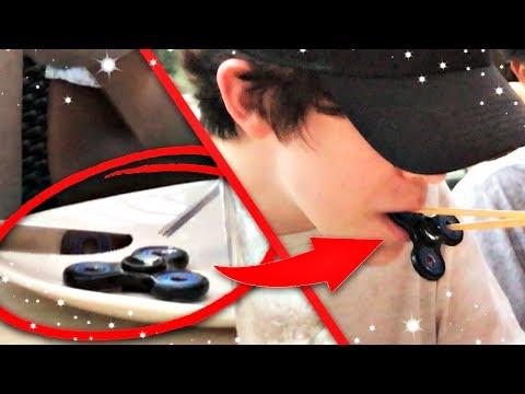 HE ATE A FIDGET SPINNER? (видео)
