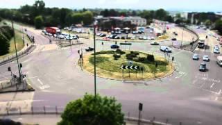 Hatfield United Kingdom  City new picture : Comet Roundabout, Hatfield, UK - Nikon D5100 Miniature Effect