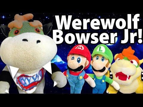 Crazy Mario Bros: Werewolf Bowser Jr!