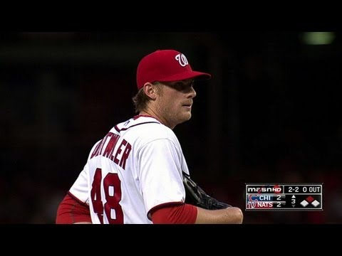 Detwiler - 5/10/13: Ross Detwiler pitches 6 2/3 strong frames, holding the Cubs to two runs on eight hits and no walks while earning his second win Check out http://MLB...