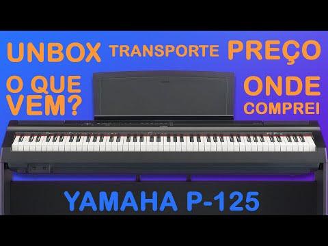 Yamaha P-125B Piano numérique portable