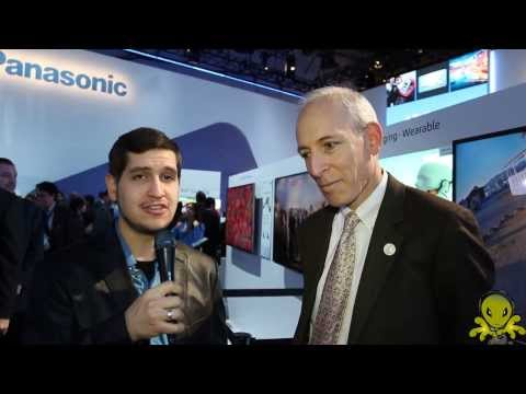 Panasonic 4k Wearable Camera CES 2014