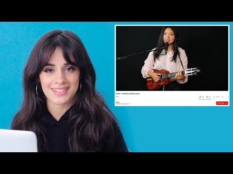 Camila Cabello Watches Fan Covers On YouTube  Glamour