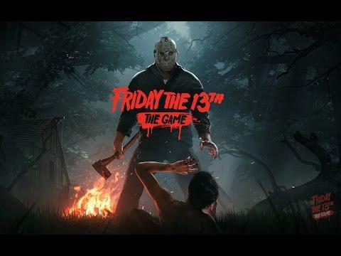 Пятница 13е самый первый стрим :-) (Friday the 13th The Game BETA)