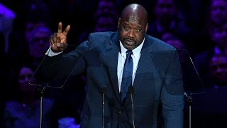 Video Shaquille O'Neal Speaks at A Celebration of Life for Kobe and Gianna Bryant download in MP3, 3GP, MP4, WEBM, AVI, FLV January 2017