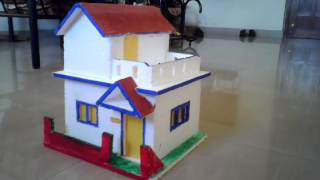 Make a house project for school