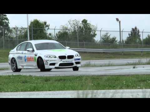 Records - BMW Performance Driving School instructor Johan Schwartz sets a new world record in the BMW M5 by drifting 51.278 miles -- 322.5 laps, all on his home turf a...