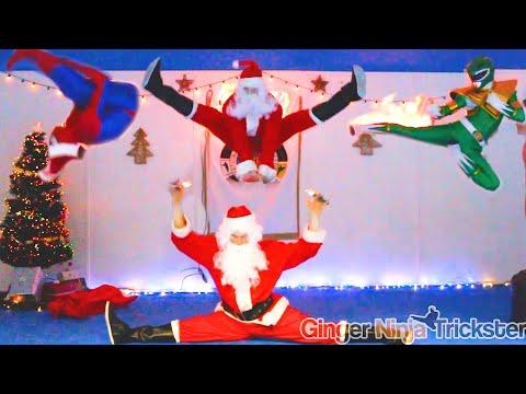 Crazy Santa và những siêu anh hùng