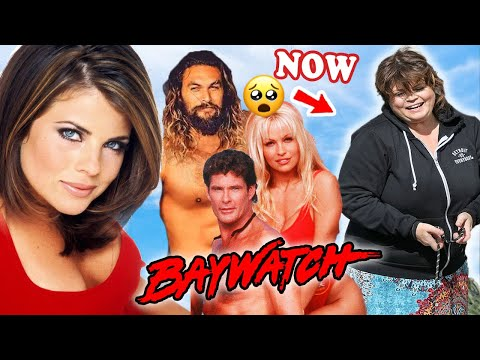 BAYWATCH (TV Series) 💥 CAST THEN AND NOW 2021