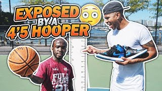 Video GOT EXPOSED BY A 4'5 HOOPER!!! 😳😱 1 V 1 AGAINST MANI LOVE!! LOSER GETS EXTREME PUNISHMENT!!! MP3, 3GP, MP4, WEBM, AVI, FLV Mei 2019