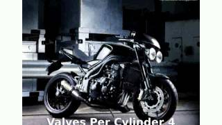 9. 2012 Triumph Speed Triple Details and Specification