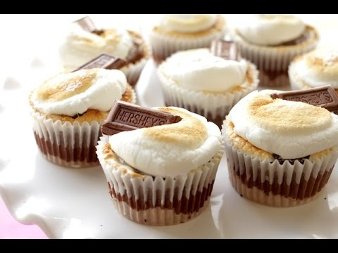 【蛋糕】S'mores Cupcakes 製作