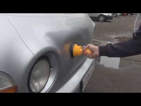 Как самому выправить вмятины на авто